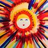 Sun Girl Painting