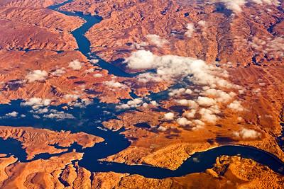 Flight Level 370 over Lake Powell AZ_3999