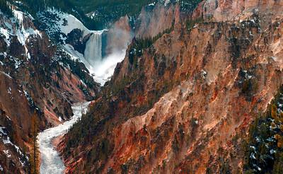 Lower Falls Yellowstone River_0632