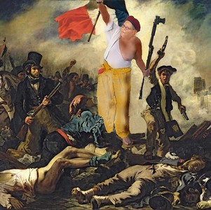 At the Revolution with Delacroix