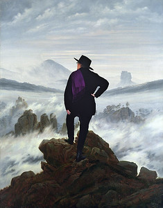 At the summit with Friedrich