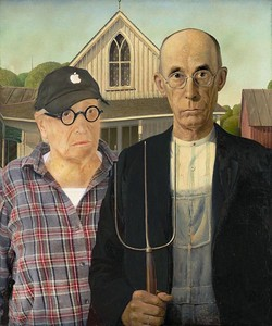 Farming with Grant Wood