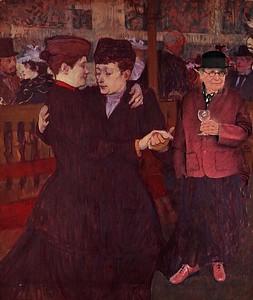 Pas de deux with Toulouse-Lautrec