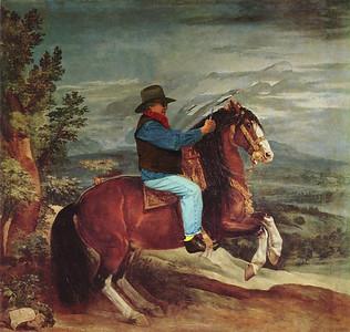 Riding with Velasquez