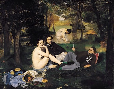 Picnicking with Manet