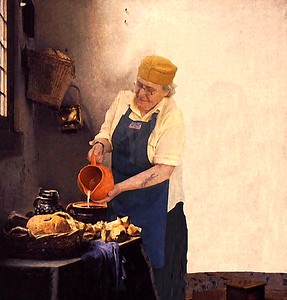 Cooking with Vermeer