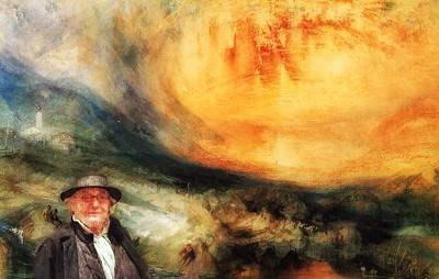 In the landscape with Turner