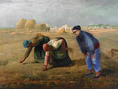 Gleaning with Millet