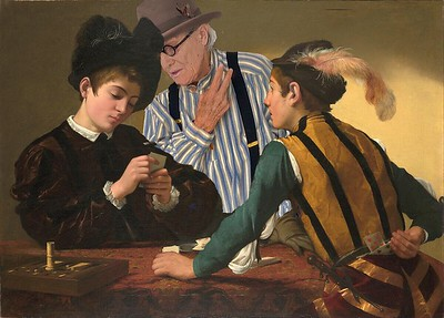 Cardsharping with Caravaggio