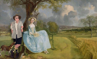 In the fields with Gainsborough