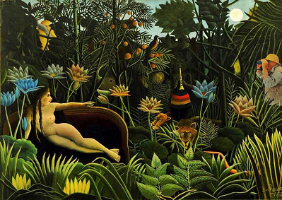In the jungle with Rousseau