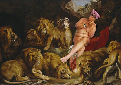 In the lions' den with Rubens