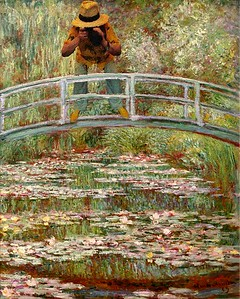 At Giverney with Monet