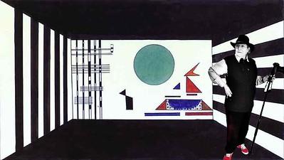 On the set with Kandinsky