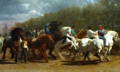 At the Horse Fair with Rosa Bonheur