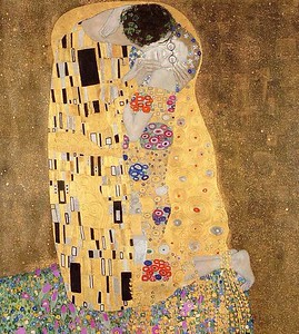 Kissing with Klimt