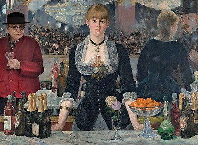 At the Folies Bergere With Manet