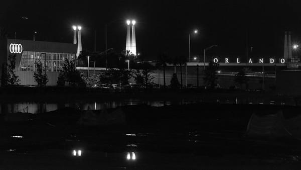 Audi of Orlando Night Lights