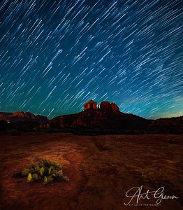 PhotoshopBlend Star Trails Sedona