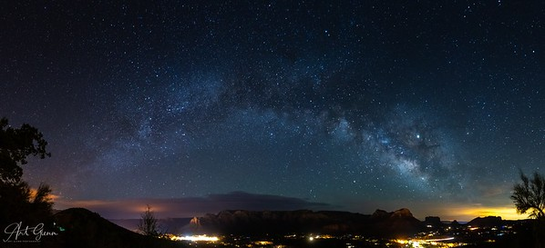 Milkyway over Sedona