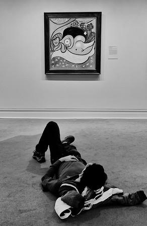 Lying Around the Met