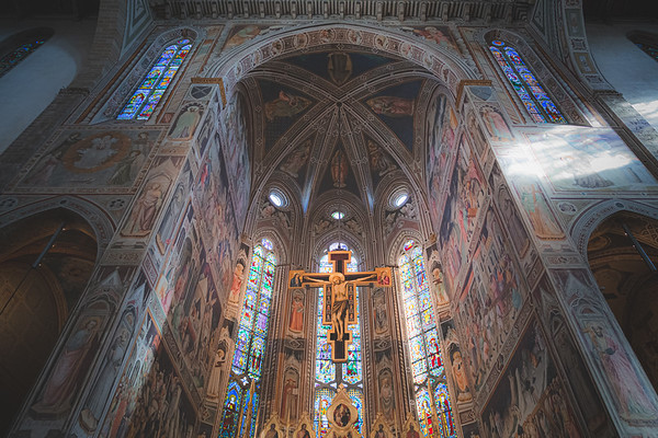 Basilica of Santa Croce. Florence, Italy