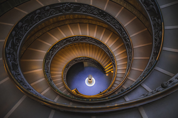 Vatican Staircase, Italy