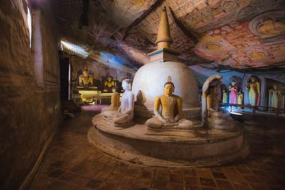 Dambulla Cave Temple, Sri Lanka