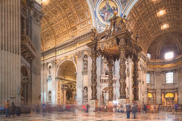 The Baldacchino. Vatican City