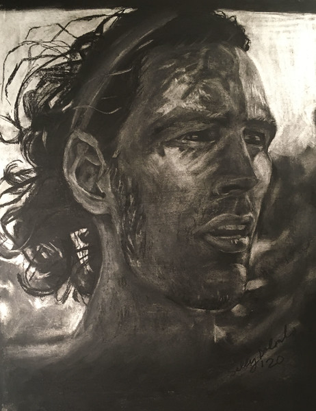 Anthony in Charcoal
