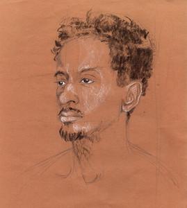 Portrait of David in Quarantine