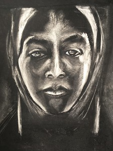 Untitled Portrait by Sally Dolembo