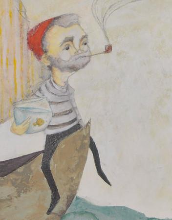 The Sailor // Bill Murray Detail