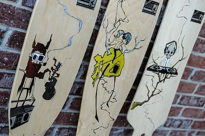 Losee Longboards Detail