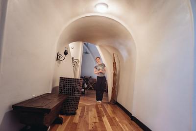 Balancing in A Curvy Hallway, 2010