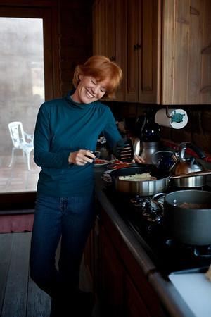 Marleen in Her Kitchen, 2010