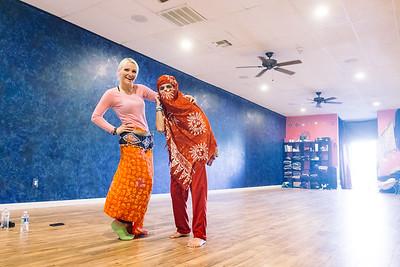 A Cute Couple in a Dance Studio, 2016