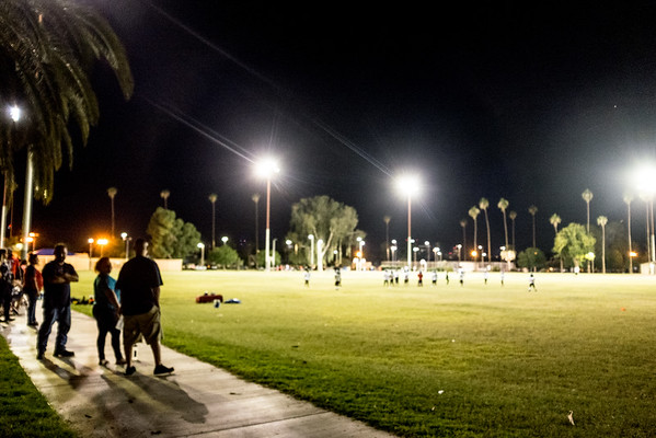 Coronado Park in the Evening - Phoenix, September 2016