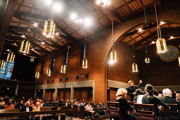 Musicanova Orchestra Rehearsal - Central United Methodist Church, October 2016