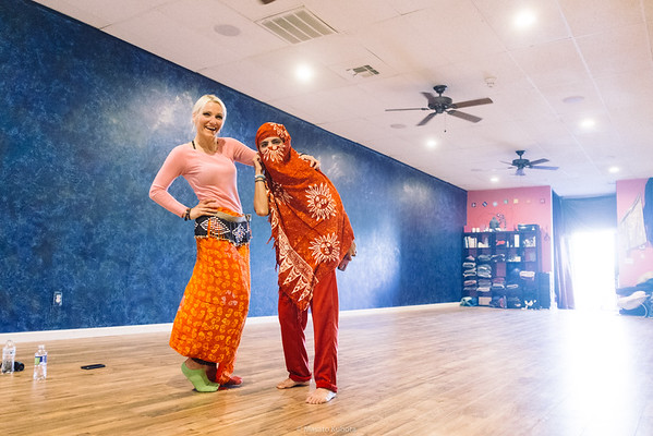 African Dance Class with Alhassane, Tempe, December 2016