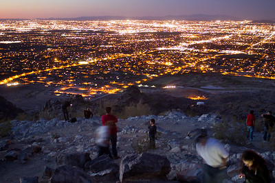 A View from South Mountain, Phoenix, 2012