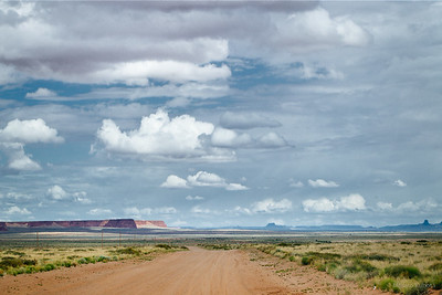 Dirt Road East of Wupatki National Monument - Navajo Reservation, 2015