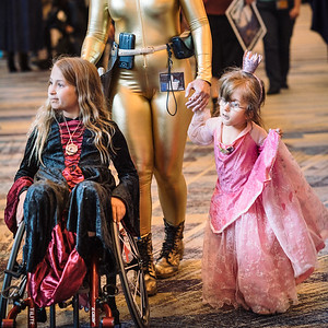 Spiderman and Princess, Phoenix Comicon, 2016