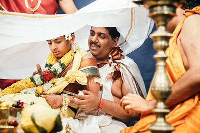 Upanayanam, (Sacred Thread Ceremony for Brahmins), 2016
