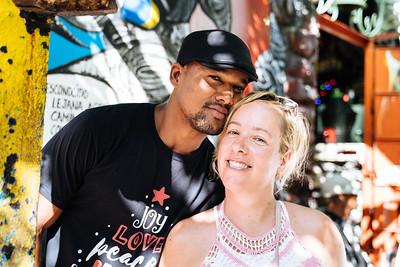 Dainer and Heather in Havana, 2018