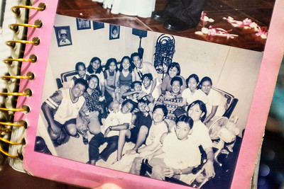 A photo from my first visit to Mama Rosa family - Caloocan City, Philippines, 1990