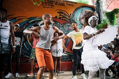 Rumba con Salsa - Callejon de hamel, Havana, Cuba, 2017
