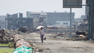 Five months after the tragic Tsunami hit Tohoku - Kesennuma, 2011