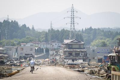 Five months after the tragic Tsunami hit Tohoku - Kesennuma, 2011