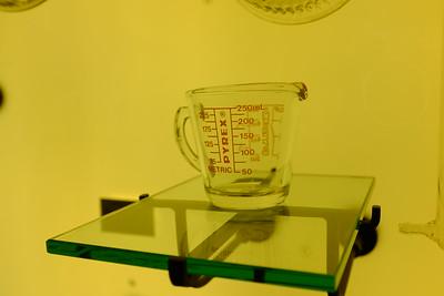 The original Pyrex measuring cup, circa 1920